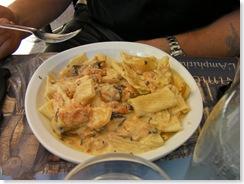 pasta in Nimes